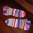 Mom's Magic Stripes Anklets