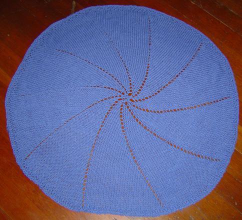 Candy Blue Pinwheel