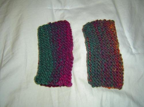 Fingerless mitts from Weekend Knitting: View #2
